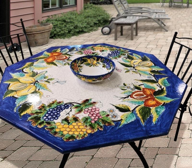 tavolo ottagonale ficola design