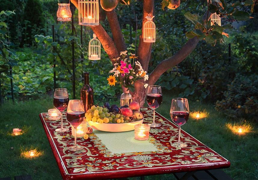 tavolo da giardino Grandi Maioliche Ficola