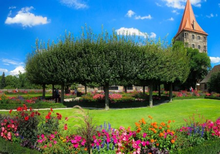 giardino colori