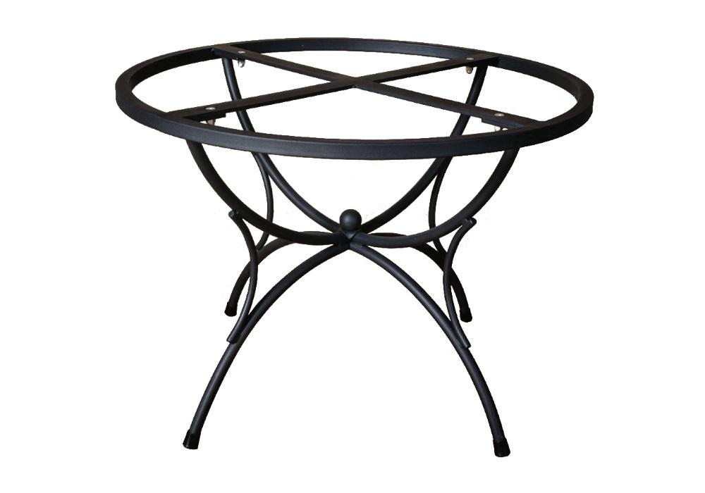 Basi In Ferro Per Tavoli Da Giardino.Modello Vega Base In Ferro Grandi Maioliche Ficola