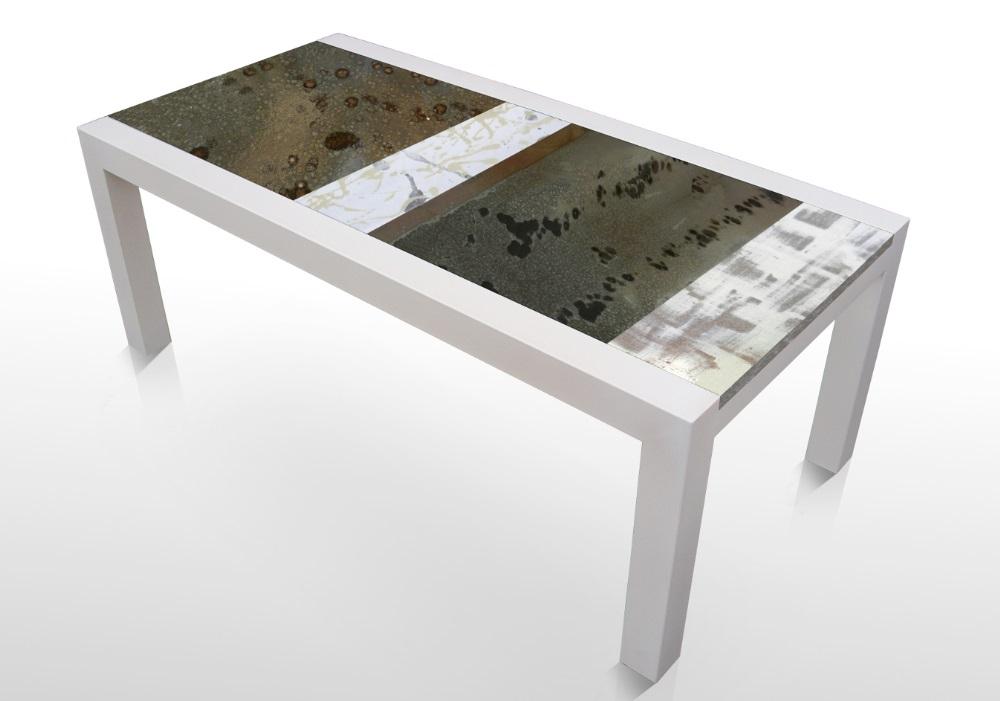 tavolo design Deruta Ficola